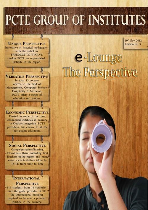 PCTE College Magazine - e lounge