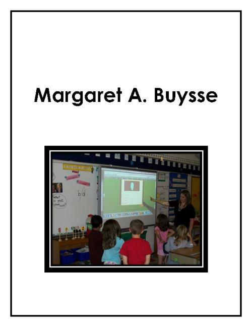 Margaret Buysse Portfolio