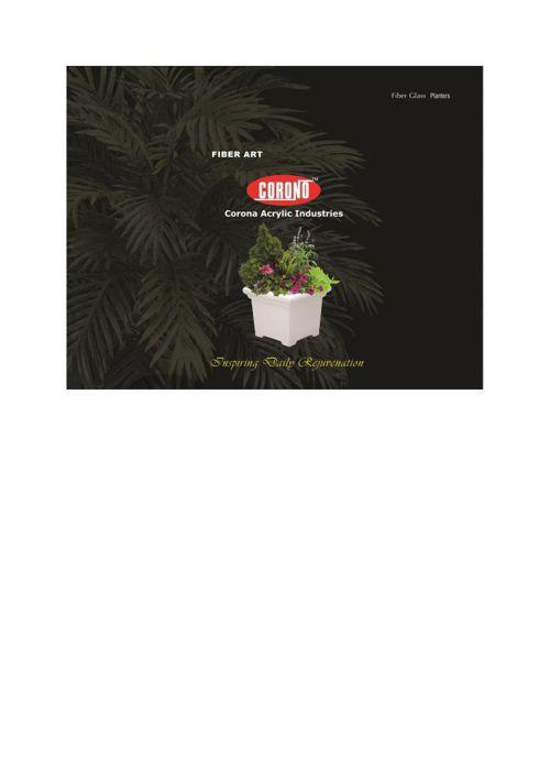 Corona Fiber Planter