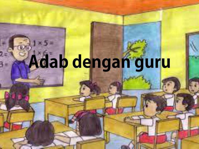 Adab dengan guru