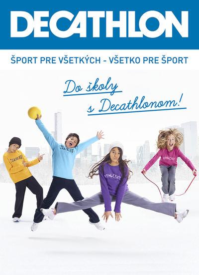 Katalóg - Do školy s Decathlonom!