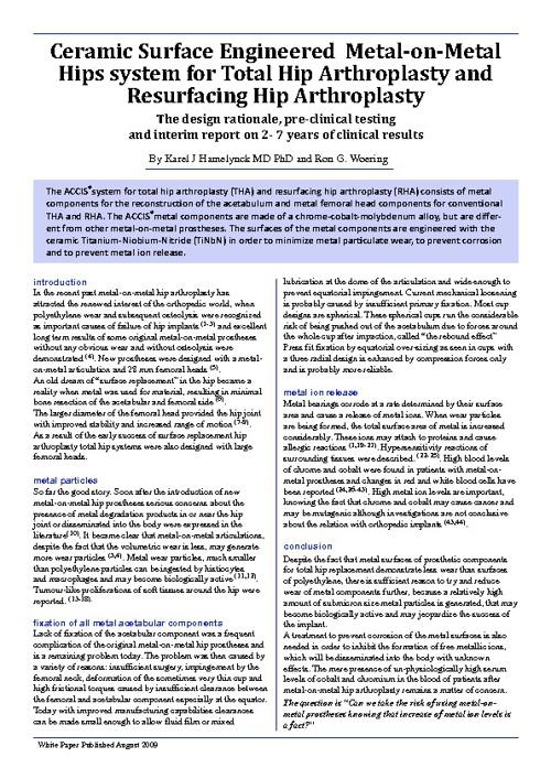 ACCIS White Paper 2010
