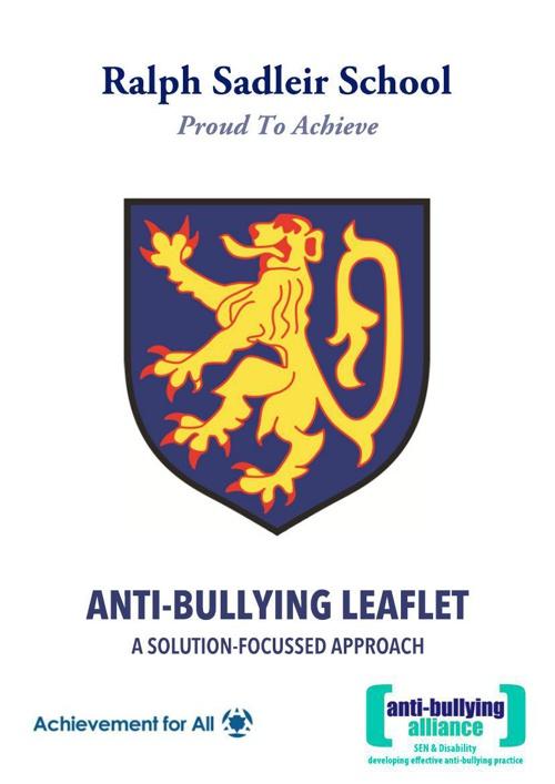 Bullying Leaflet