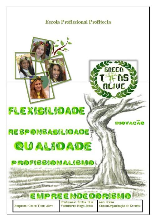 Green Teens Alive - Relatório final