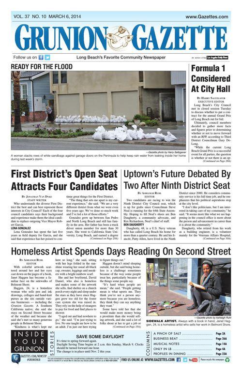 Grunion Gazette | March 6, 2014