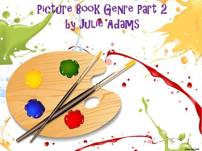 Picture Book Genre Part 2