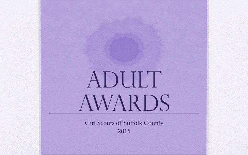 Adult Awards Dinner Presentation