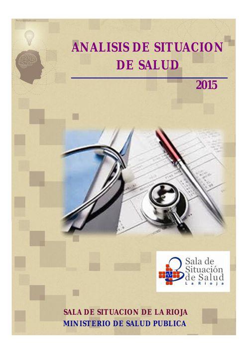 Analisis de Situacion La Rioja 2015_SDSS