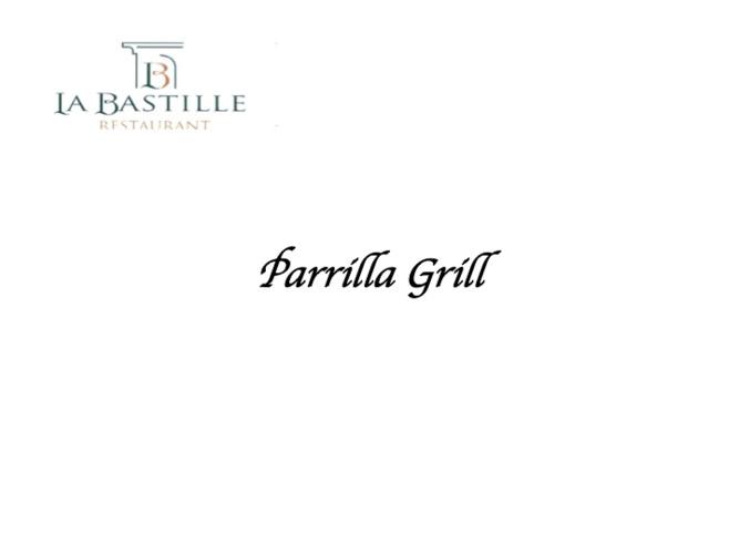 CATALOGO DE PARRILLA GRILL