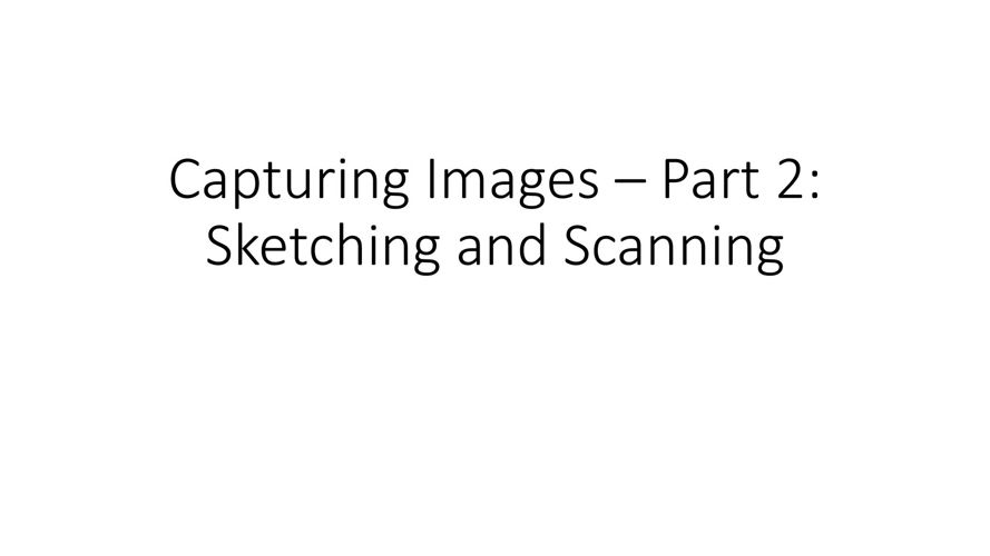 Capturing Images – Part 2 - Sketching and Scanning