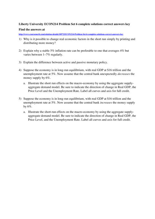 econ 214 problem set 1 answer to problem set 3 complete all questions listed below clearly label your answers will increases in government spending financed by borrowing help promote a strong recovery from a severe recession.