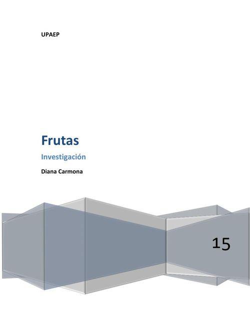 Frutas Diana C