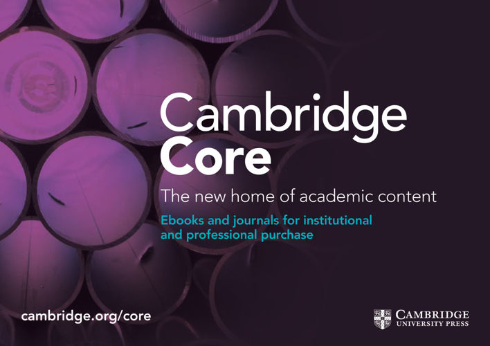 2016 Cambridge Core Combined Catalogue