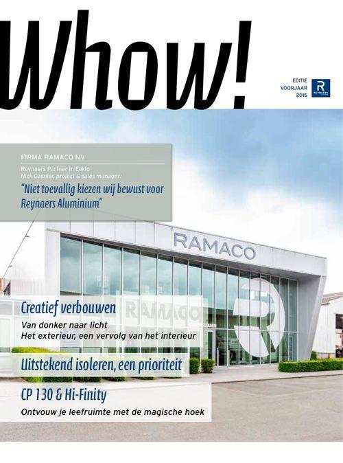 Ramaco krant ramen en deuren REYNAERS