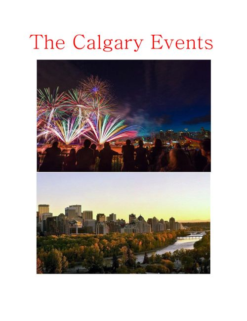 The Calgary Events