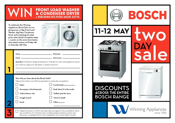 Bosch Sale Catalogue