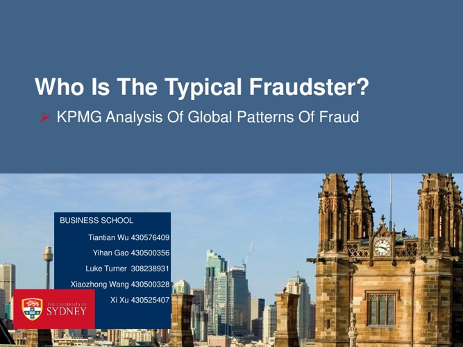 Claw 6031 Typical Fraudster