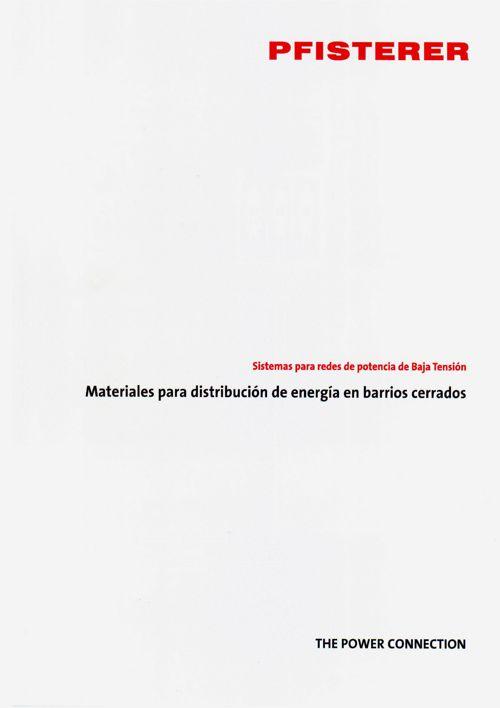 Catálogo Barrios Cerrados