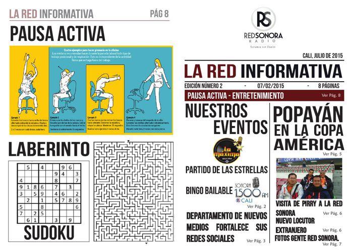 BOLETÍN RED INFORMATIVA  JUNIO