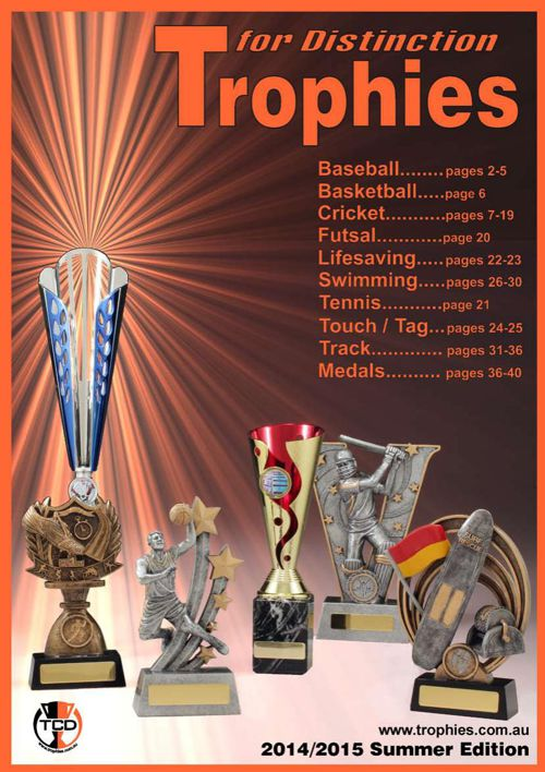 2015 SUMMER TROPHIES CATALOGUE