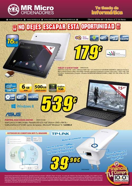Catálogo Marzo 2013 MR Micro