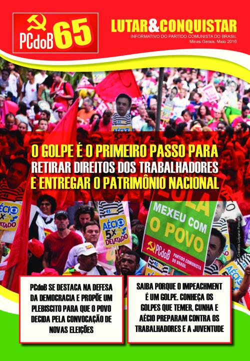 Informativo PCdoB Minas - maio de 2016