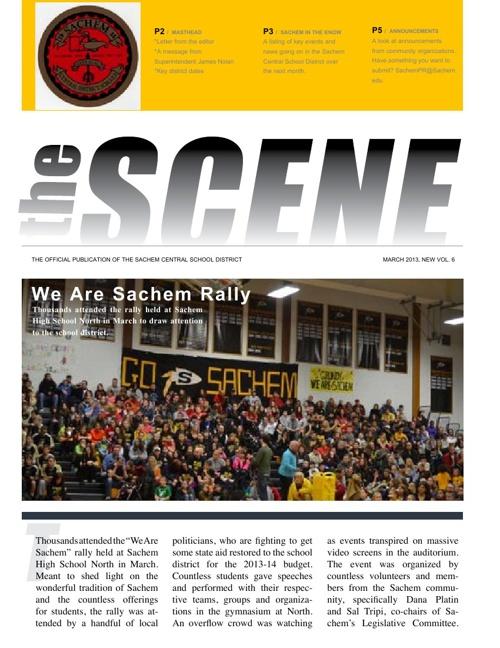 The SCENE: March 2013