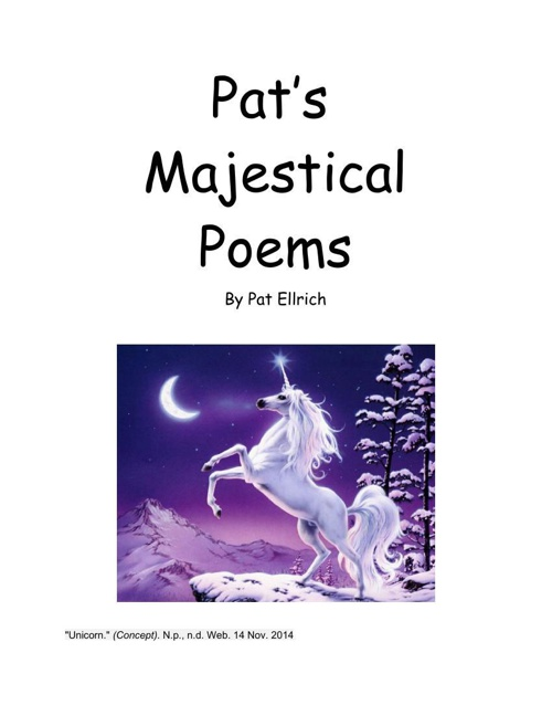 Pats poems