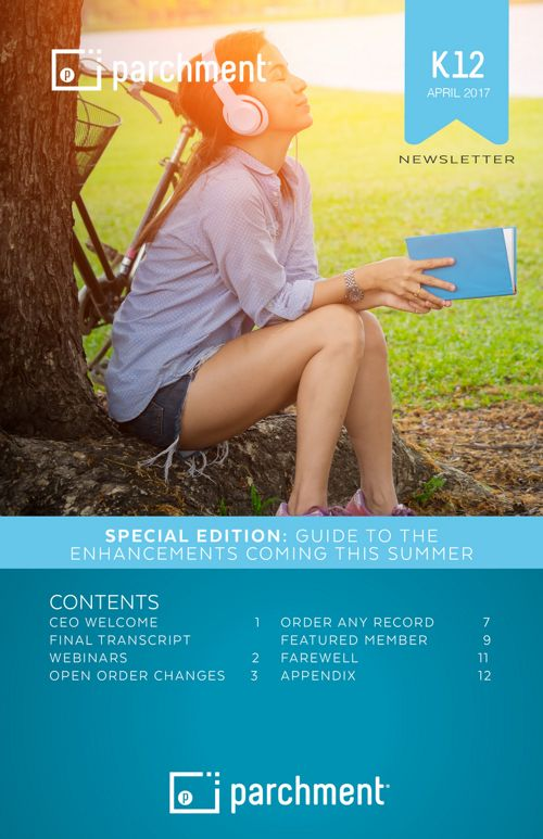 K12 Newsletter: Guide to Summer Enhancements