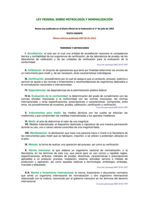 Terminos y Definiciones LFMN