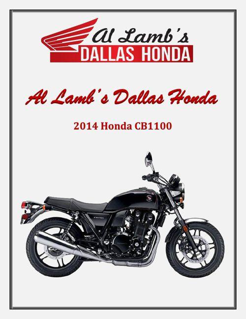 Al Lamb's Dallas Honda: 2014 Honda CB1100