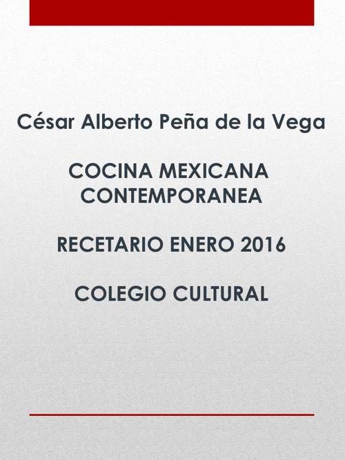 César Alberto Peña de la Vega