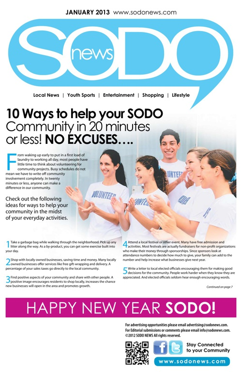 January SODO News