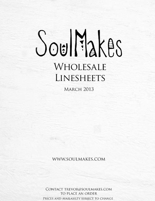 Wholesale Line Sheets 5-18-13
