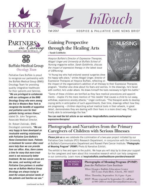 Fall InTouch Newsletter 2017