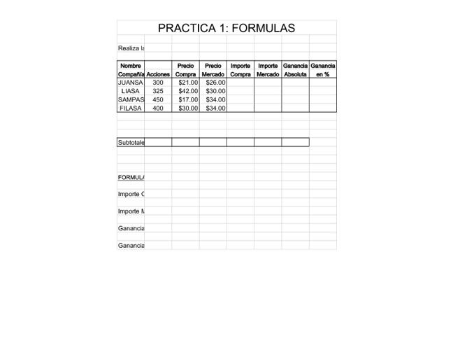 Presentación de Mis Prácticas de Excel 2007