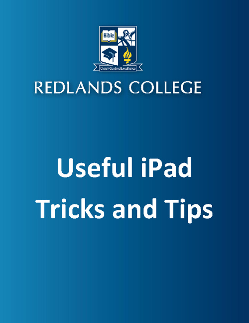 iPad: Tricks and Tips -FlipSnack