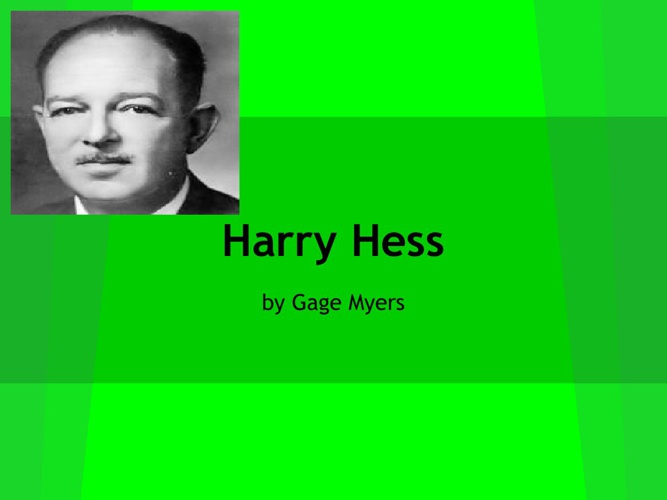 P.5. Myers Hess