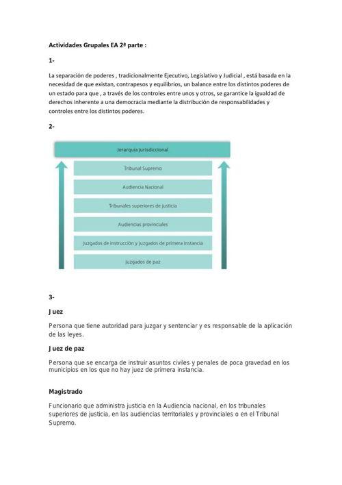 Actividades Grupales EA 2ª parte