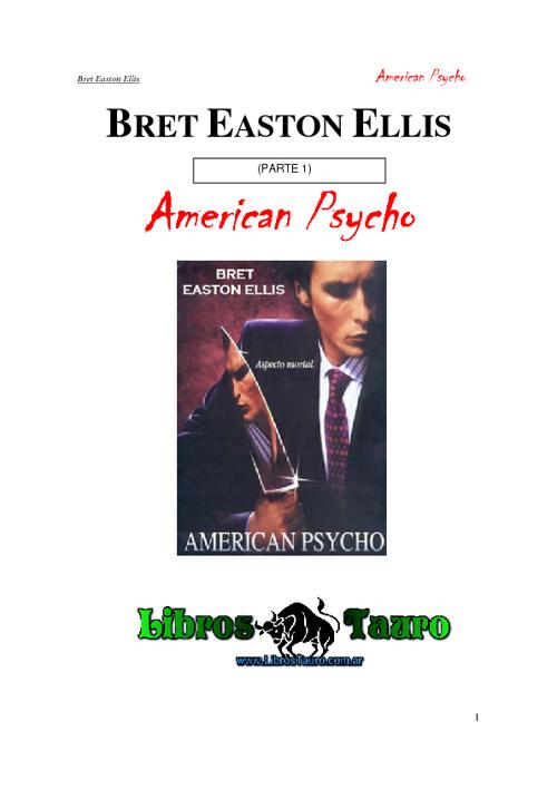 psicópata americano 1parte
