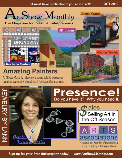 ArtShow Monthly October