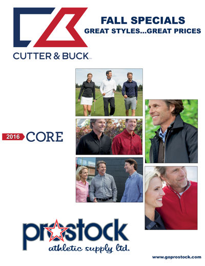 Cutter and Buck Core 2016