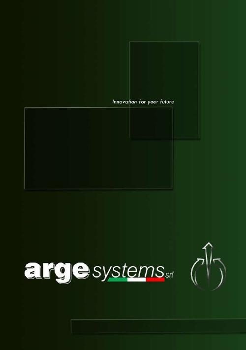 catalogo argesystems 2012