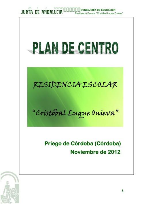 Nuevo Plan De Centro