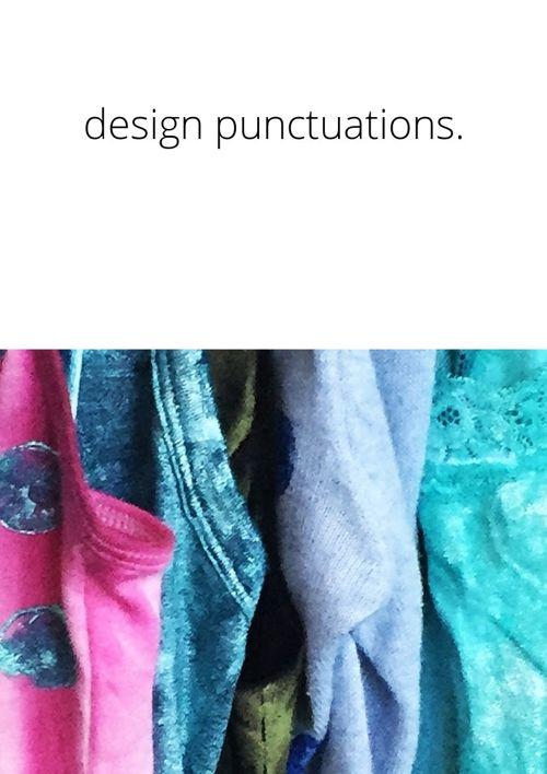 Design Punctuations