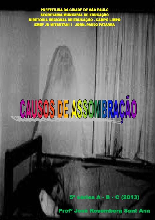 CAUSOS DE ASOMBRAÇÃO - 5ª séries