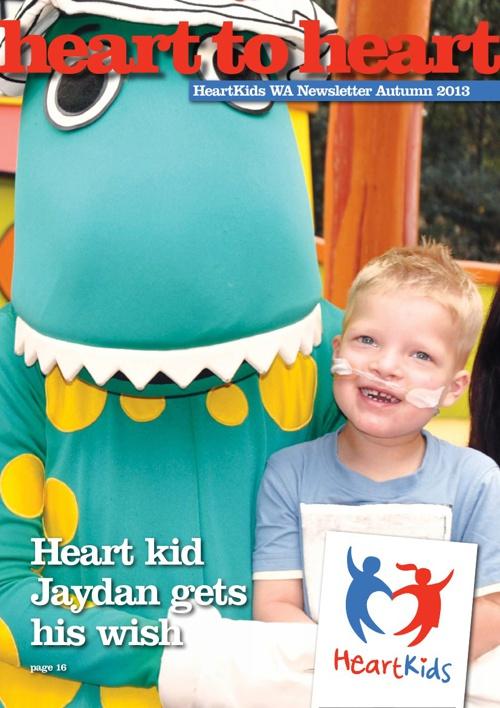 HeartKids WA Autumn 2013 Newsletter