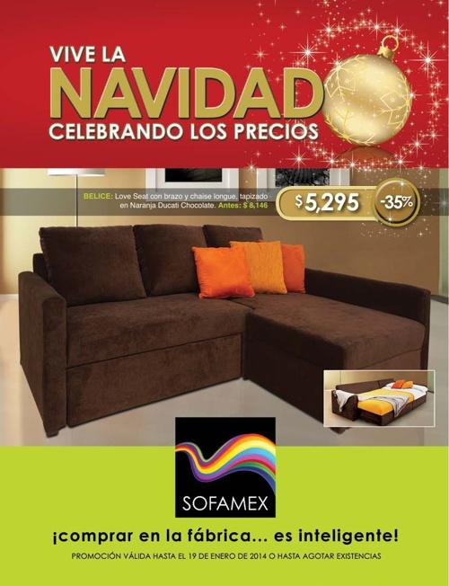 Catálogo Sofamex Navidad