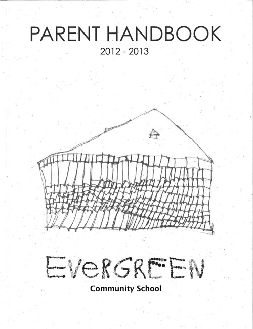 Evergreen Community School Handbook