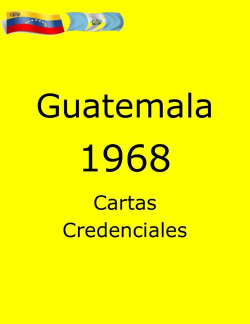 Cartas Guatemala